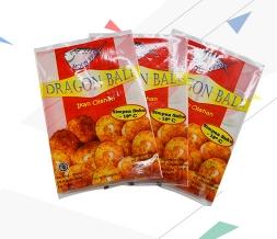 出口印尼冻鱼丸包装袋背封