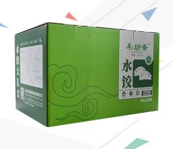 速冻产品水饺礼盒带提手