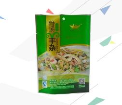 羊杂食品用自立包装袋