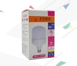 照明节能灯彩盒包装