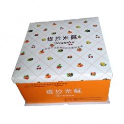 提拉米苏蛋糕盒高端定制