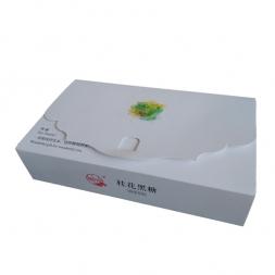 新款高档黑糖包装白卡礼盒